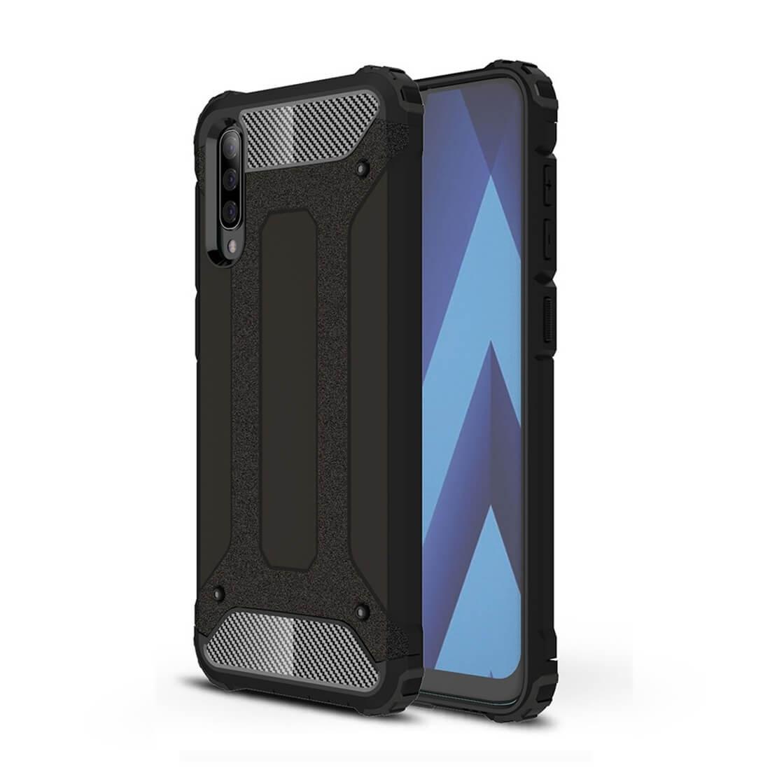 FORCELL TOUGH Ochranný obal Samsung Galaxy A70 černý