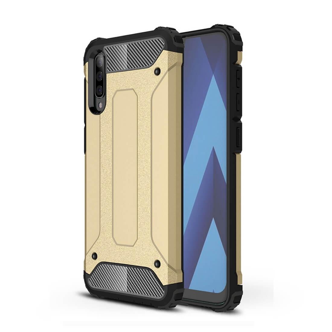 FORCELL TOUGH Ochranný obal Samsung Galaxy A70 zlatý