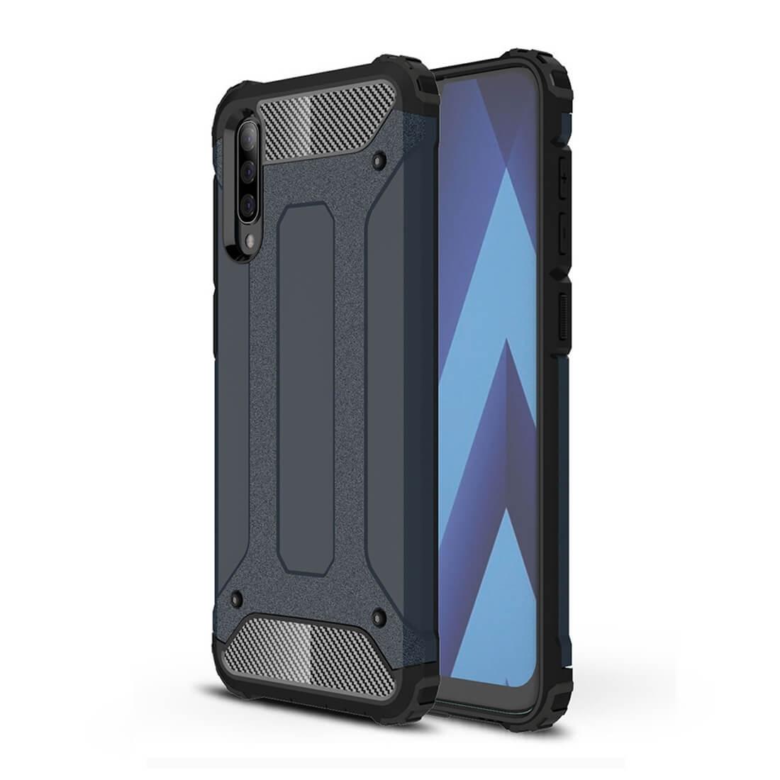 FORCELL TOUGH Ochranný obal Samsung Galaxy A70 modrý