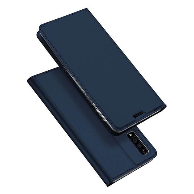 DUX Peňaženkové pouzdro Samsung Galaxy A7 2018 (A750) modré