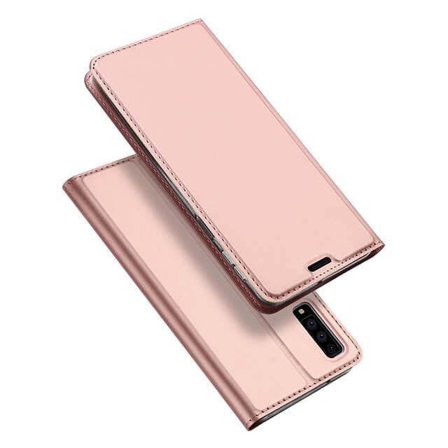 DUX Peňaženkové pouzdro Samsung Galaxy A7 2018 (A750) růžové