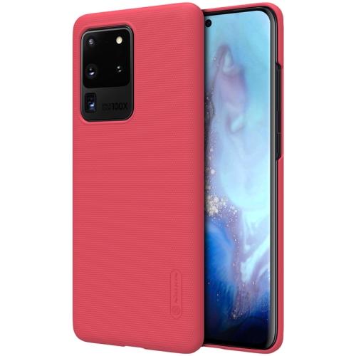 NILLKIN FROSTED Samsung Galaxy S20 Ultra červený