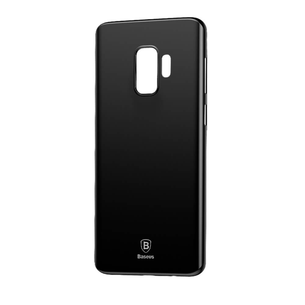 BASEUS WING Ochranný kryt Samsung Galaxy S9 Plus čierny