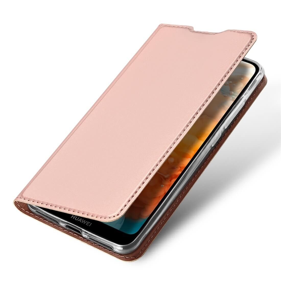 DUX Peňaženkový obal Huawei Y6 2019 ružový