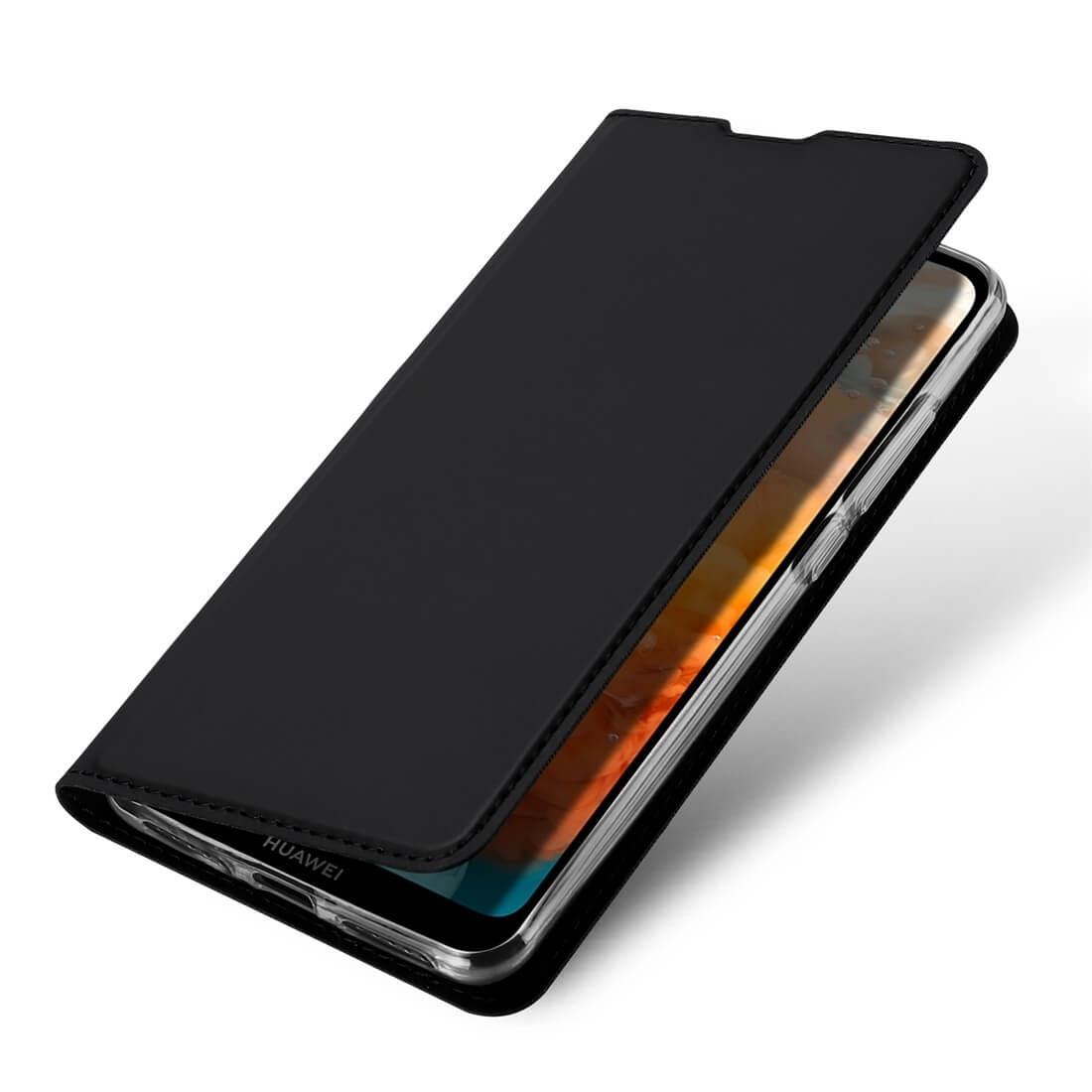 DUX Peňaženkový obal Huawei Y6 2019 černý