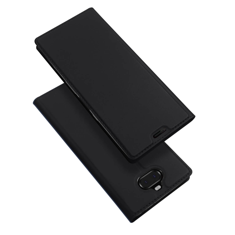 DUX Peňaženkové pouzdro Sony Xperia XA3 černé
