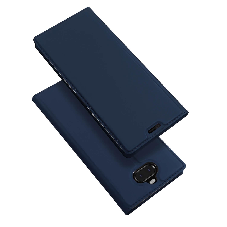 DUX Peňaženkové pouzdro Sony Xperia XA3 modré