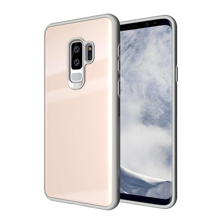 FORCELL TEMPERED GLASS kryt Samsung Galaxy S9 Plus ružový 685e0cb91ff