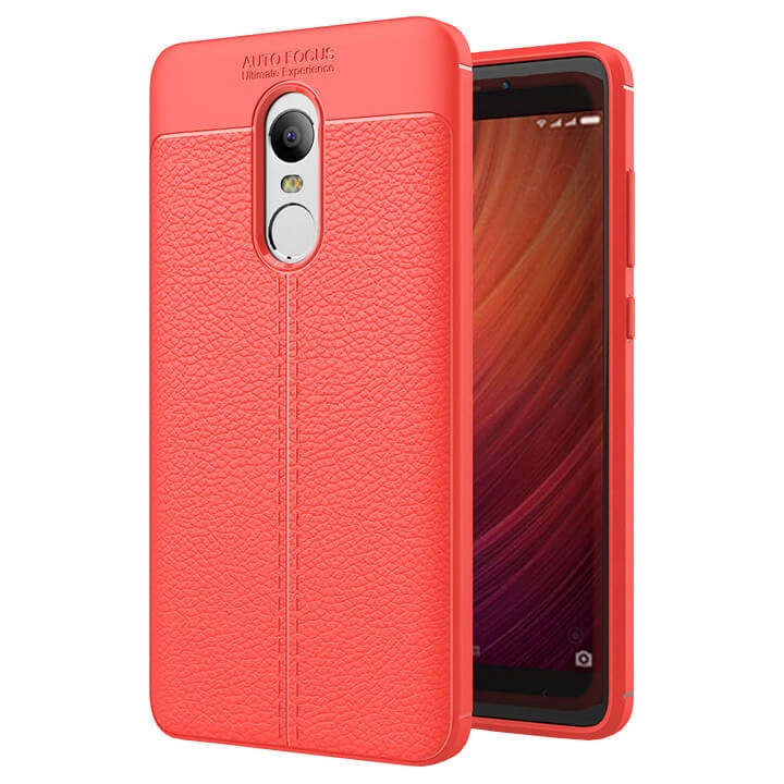 FORCELL PATTERN TPU kryt Xiaomi Redmi Note 4 (Global / Mediatek) červený