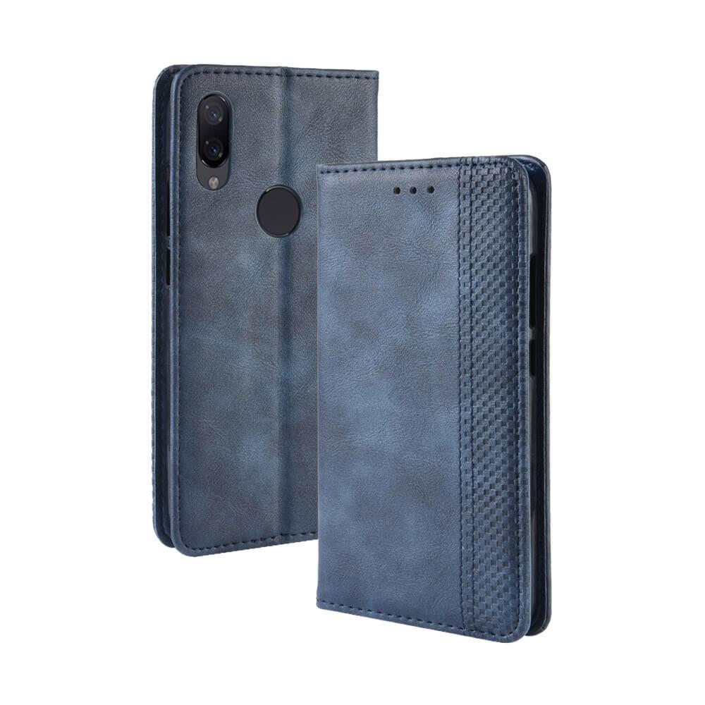 FORCELL BUSINESS Peňaženkový obal Xiaomi Redmi 7 modrý