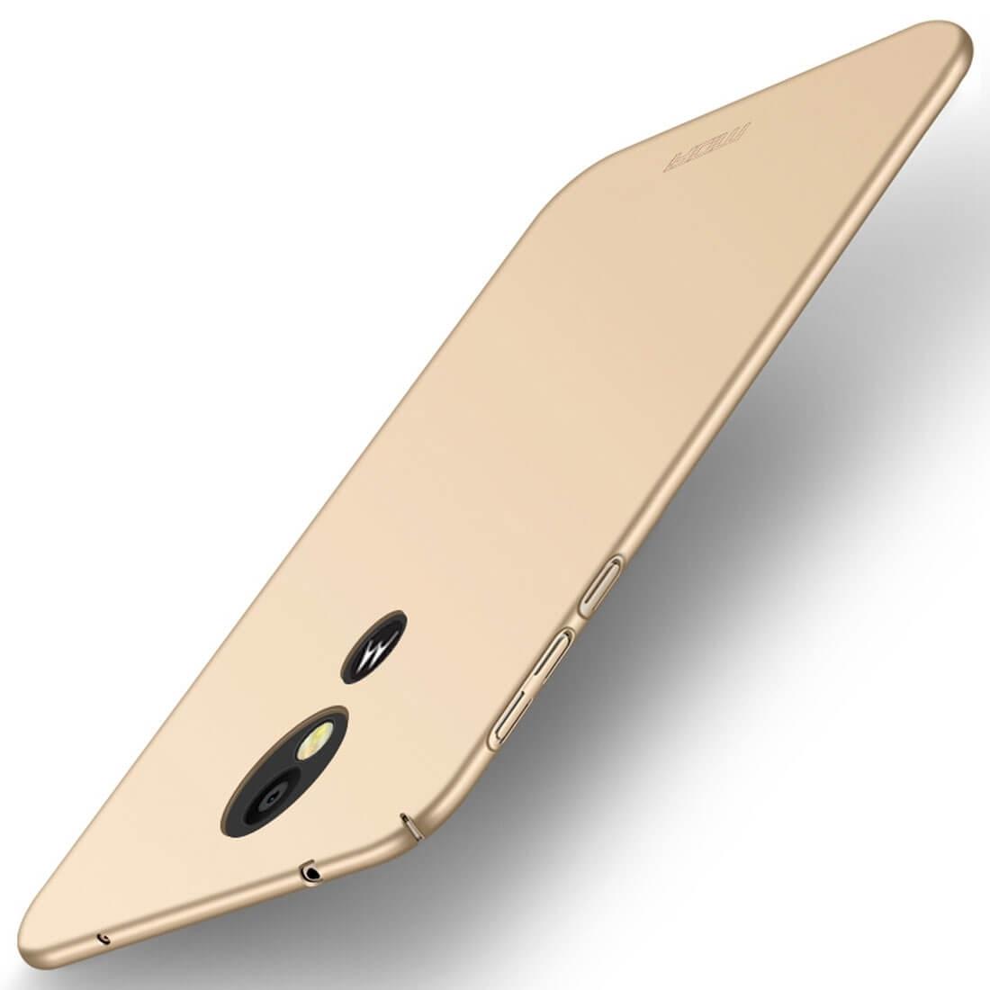 MOFI Ultratenký obal Motorola Moto E5 Plus zlatý