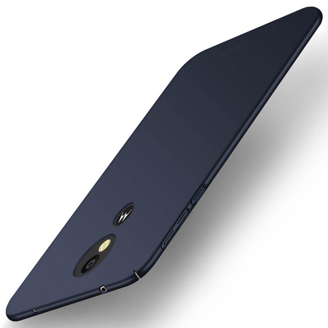 MOFI Ultratenký obal Motorola Moto E5 Plus modrý