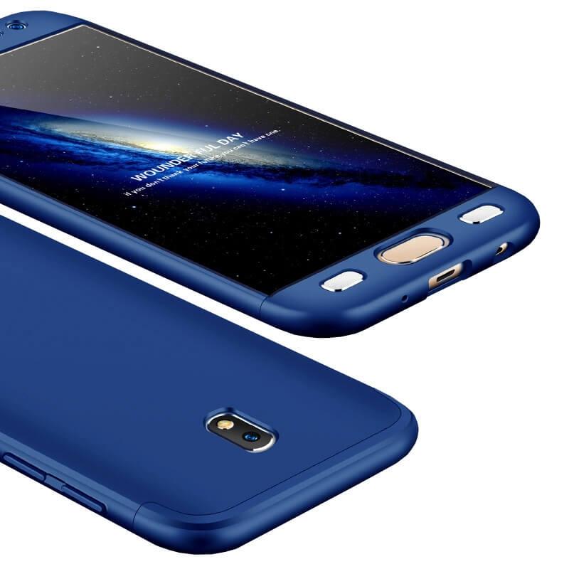FORCELL 360° Ochranný obal Samsung Galaxy J7 2017 (J730) modrý