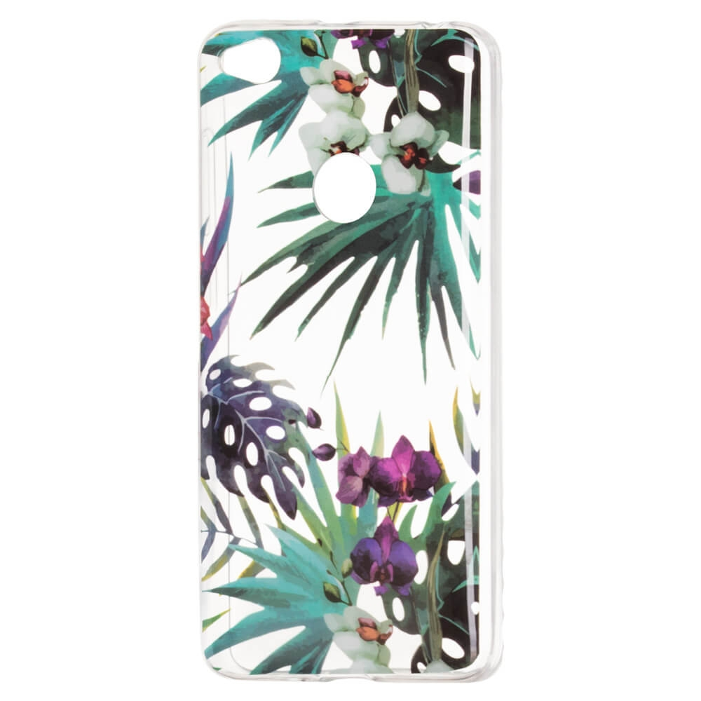FORCELL ART Silikónový obal Huawei P9 Lite 2017 ORCHIDEA