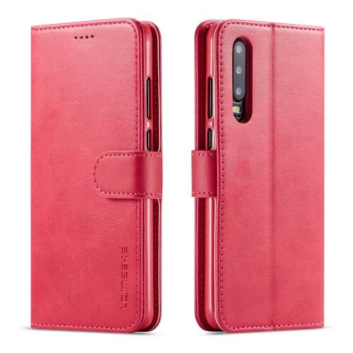 IMEEKE Peňaženkový obal Huawei P30 růžový