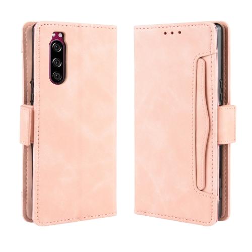 FORCELL STYLE Peňaženkový obal Sony Xperia 5 růžový
