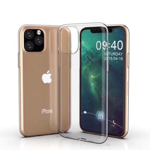 FORCELL Silikonový obal Apple iPhone 11 Pro průhledný