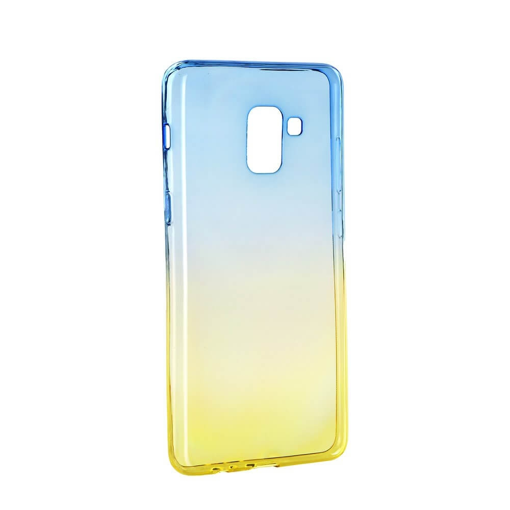 FORCELL OMBRE obal Samsung Galaxy A5 2018 / A8 2018 fialový