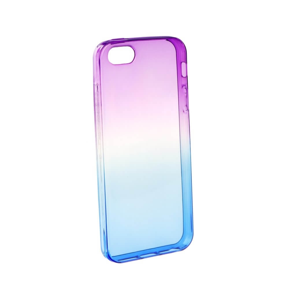 FORCELL OMBRE obal Apple iPhone 5   5C   SE fialový beafed9a70e