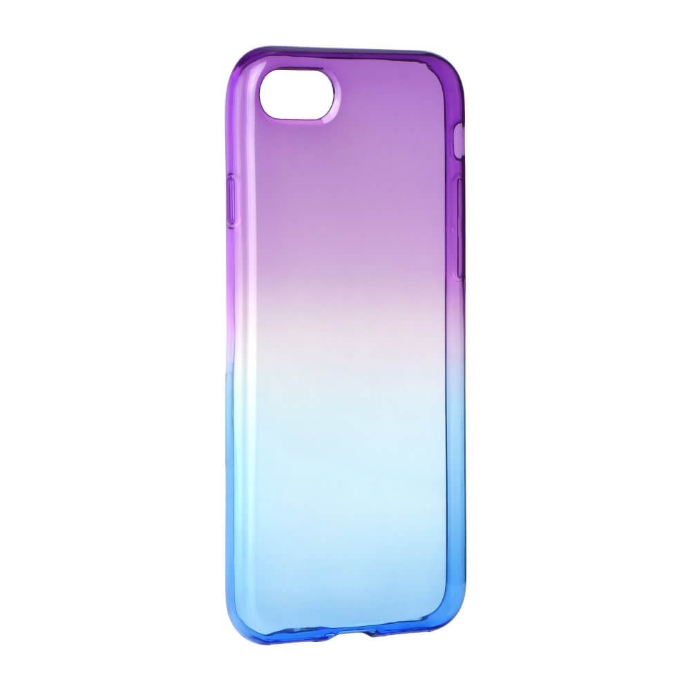FORCELL OMBRE obal Apple iPhone 7 Plus / iPhone 8 Plus fialový