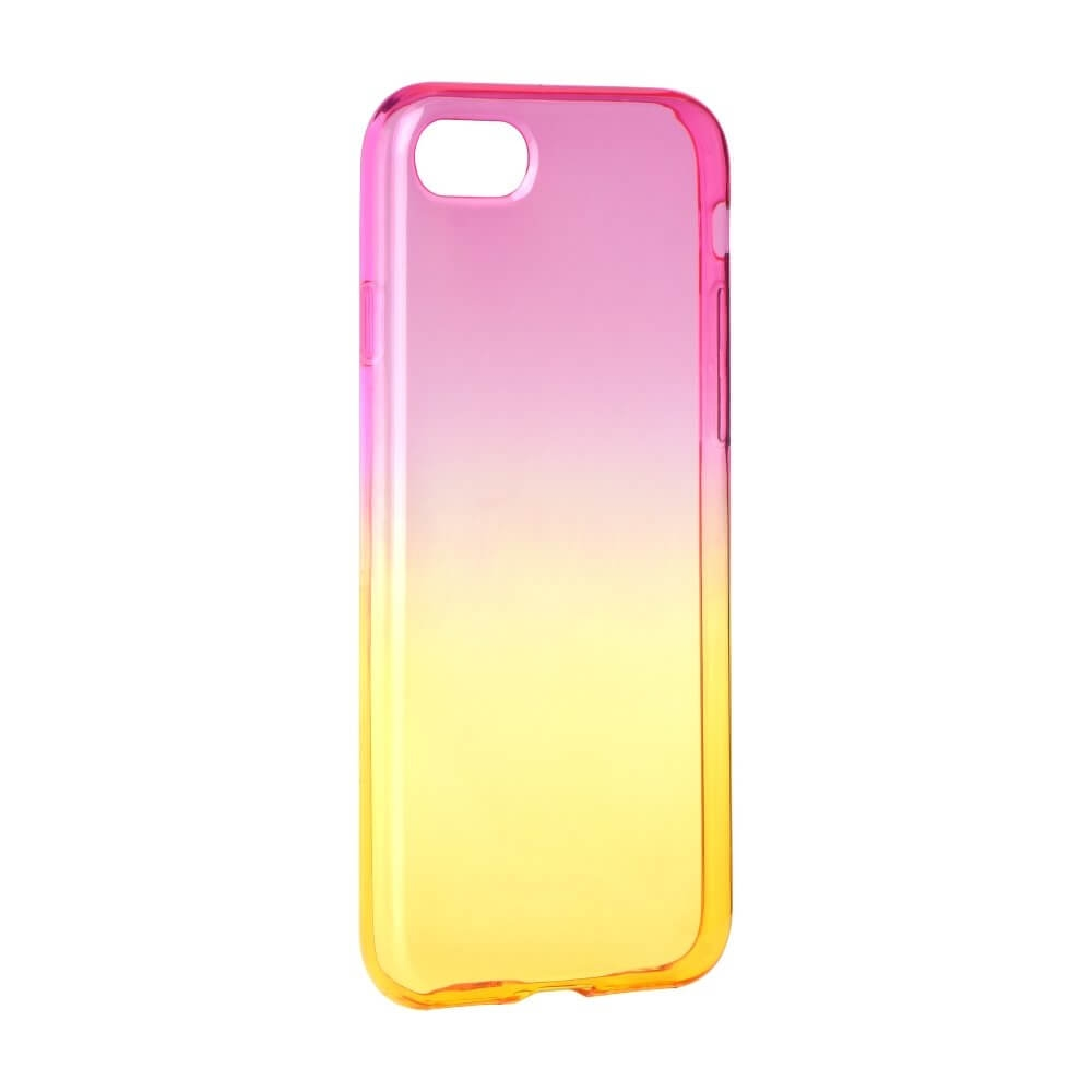 FORCELL OMBRE obal Apple iPhone 7 Plus / iPhone 8 Plus růžový