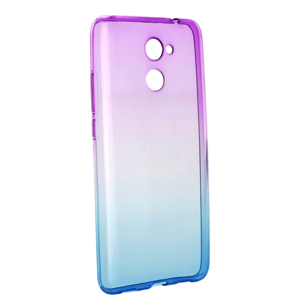 FORCELL OMBRE obal Huawei Y7 fialový