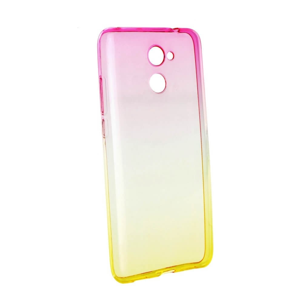 FORCELL OMBRE obal Huawei Y7 růžový