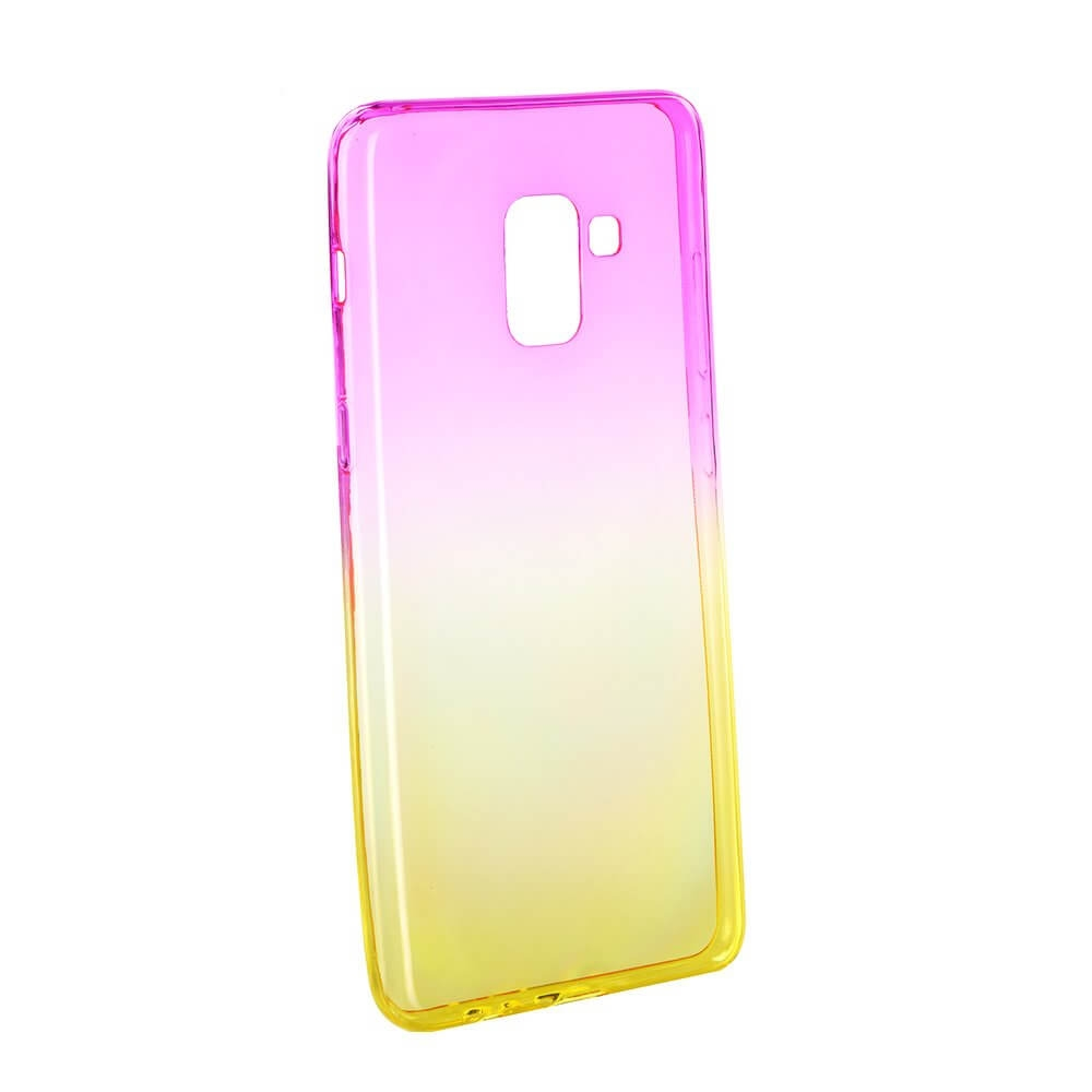 FORCELL OMBRE obal Samsung Galaxy A8 Plus 2018 (A730) růžový