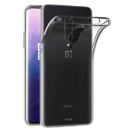 FORCELL Silikonový obal OnePlus 7 Pro průhledný