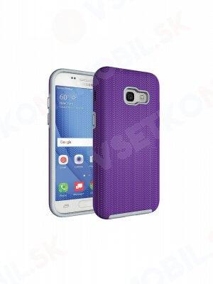 HYBRID ochranný obal Samsung Galaxy A3 2017 (A320) fialový