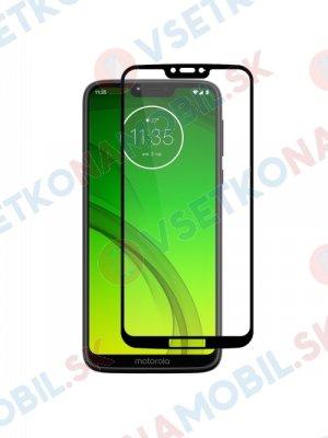 3D Tvrzené sklo Motorola Moto G7 Power černé