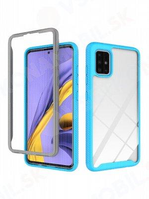 DUAL odolný kryt Samsung Galaxy A51 modrý