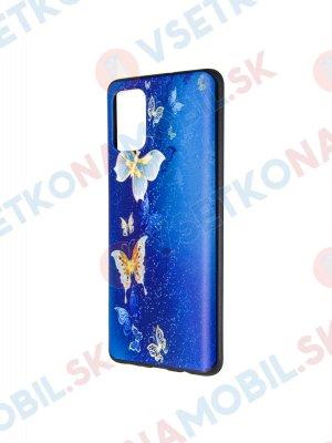 ART Silikónový obal  Samsung Galaxy A71  GOLD BUTTERFLIES