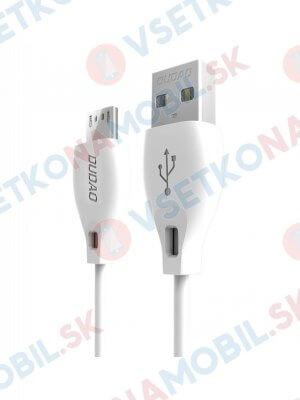 DUDAO L4 kábel micro USB 2 metre biely