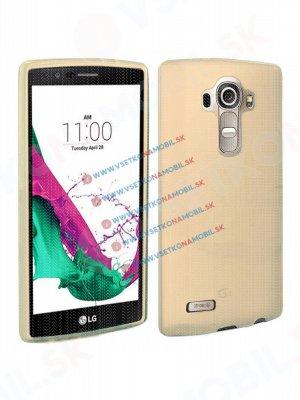 Silikonový obal LG G4c zlatý (mini)
