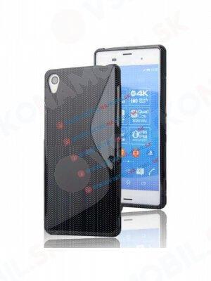 Ochranný silikonový obal Sony Xperia Z4 černý