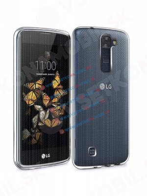 Silikonový obal LG K8 průhledný
