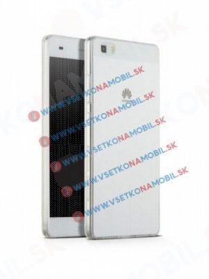 Silikonový obal Huawei P8 lite průhledný