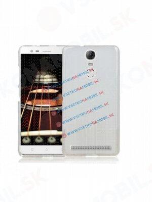 Silikonový obal Lenovo Vibe K5 Note / K5 Note dual SIM průhledný