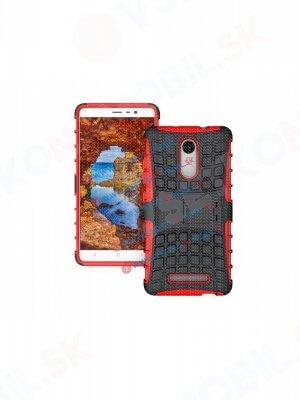 STAND Extra odolný kryt Xiaomi Redmi Note 3 červený