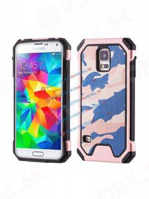 ARMY Ochranné pouzdro Samsung Galaxy S5 růžové