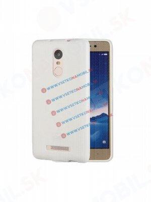 MERCURY JELLY Gumový obal Xiaomi Redmi Note 3 bílý