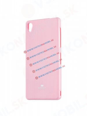MERCURY JELLY TPU obal Sony Xperia Z3 růžový light