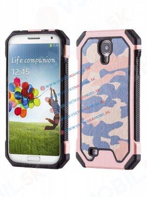 ARMY Ochranné pouzdro Samsung Galaxy S4 růžové