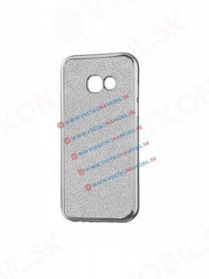 GLite Silikonový obal Samsung Galaxy A3 2016 (A310) stříbrný