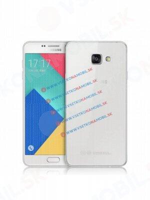 Silikonový obal Samsung Galaxy A3 2016 průhledný