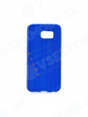 Silikonový obal Samsung Galaxy S6 Edge modrý