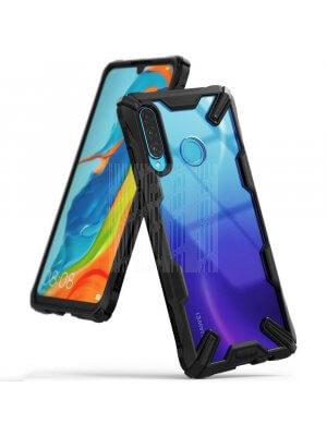 RINGKE FUSION X Huawei P30 Lite černý