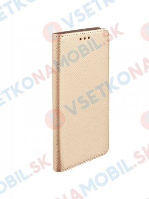MAGNET Peňaženkový obal Xiaomi Redmi Note 4 (global) zlatý