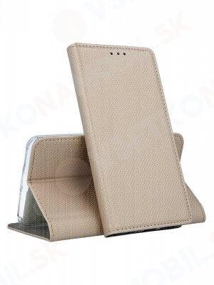 MAGNET Knížkové pouzdro Huawei Mate 20 Lite zlaté